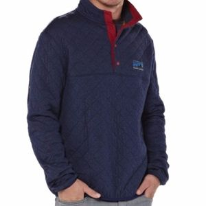 Men's S Patagonia Diamond Quilt Snap-T Pullover